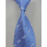 Галстук мужской голубое небо от Hugo Boss Tie