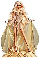 Коллекционная кукла Barbie Золотая Блондинка (X8263), Mattel США