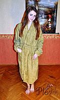 Махровый хлопковый халат  Mariposa ХАКИ р.48-50