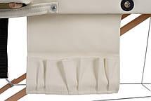 Массажный стол BodyFit XL 2 сегментный деревянный, бежевый, фото 3