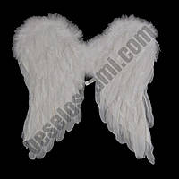Крылья Ангела средние 45х45см (белые, черные)