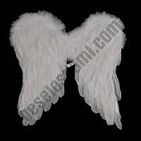 Крылья Ангела средние 45х45см (белые, черные), фото 1