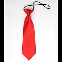 Tie Галстук красный детский/женский однотонный