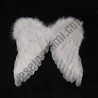 Крылья Амура ангела маленькие 40х40см (белые)