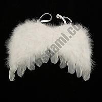 Крылья Ангела Детские 22х32см (белые/черные)