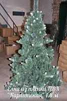 """Искусственная елка """"Карпатская"""" от 1.5 м до 2.2 м"""