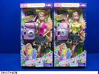 Кукла Susy с фотоаппаратом, 2 вида (ОПТОМ) 2706 Susy