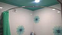 Карниз для ванной и душа из нержавеющей стали