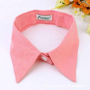 Tie Воротничок женский розовый