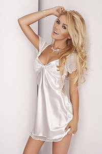 Изящная ночная рубашка Klara DKaren M, молочный