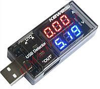 USB измеритель тока и напряжения вольт – амперметр KEWEISI