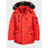 Куртка терракотового цвета для мальчика Goldy (51-ЗМ-16)