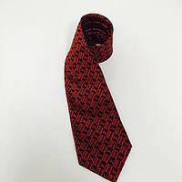 Галстук мужской красный Louis Vuitton Tie