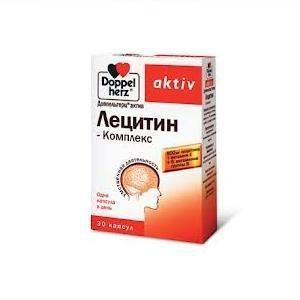 Доппельгерц актив Лецитин Форте 1200 №30кап (БАД)