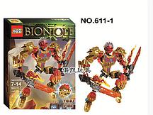 "Конструктор KSZ 611-1 Bionicle (аналог Lego 71308) ""Таху - Объединитель Огня"" 132 дет"