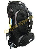 Рюкзак туристический спортивный KBN  75 литров черный, фото 1