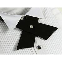 Кросс галстук черный женский
