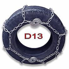 Цепи противоскольжения автомобильные D13 - 14 .