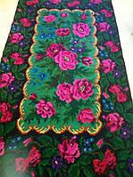 """Килим доріжка ручної роботи шерстяний """"Квітковий"""" 325*175 см"""