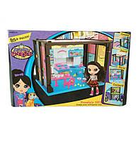 Набор игровой Сборный домик Littlest Pet Shop 18шт с куклой и кухней
