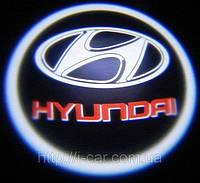 Проекция логотипа автомобиля HYUNDAI