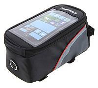 """Велосумка ROSWHELL на раму для смартфонів до 5.5"""" і дрібниці SKU0000011"""