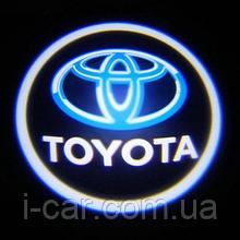 Проекція логотипу автомобіля TOYOTA