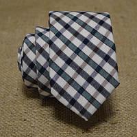 Галстук мужской шерстяной зеленый стильный Bow Tie House™