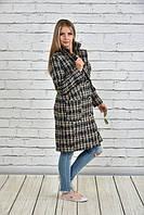 Женское пальто-шанель больших размеров (рр 42-74), разные цвета