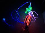 Світиться кабель USB-MicroUSB для смартфонів СИНІЙ SKU0000274, фото 3