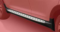 Пороги боковые Chevrolet Captiva стиль BMW