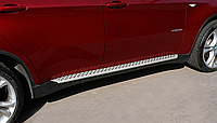 Пороги боковые BMW X6 2008-