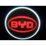 Проекція логотипу автомобіля BYD