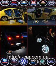 Проекція логотипу автомобіля Dacia