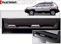 Пороги боковые Hyundai Tucson