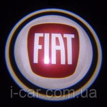 Проекція логотипу автомобіля Fiat