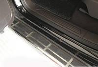 Пороги боковые Volkswagen Touareg 2010-