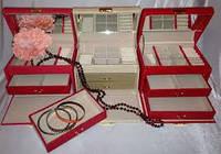 Шкатулка для украшений, драгоценностей, ювелирных изделий, бижутерии №8908,подарки для женщин