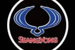 Проекция логотипа автомобиля SsangYong