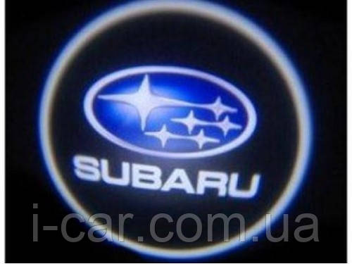 Проекция логотипа автомобиля Subaru