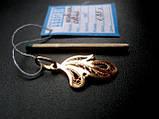 Золотой АЖУРНЫЙ кулон подвеска 1.85 грамма  ЗОЛОТО 585 пробы, фото 8