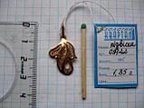 Золотой АЖУРНЫЙ кулон подвеска 1.85 грамма  ЗОЛОТО 585 пробы, фото 9