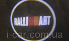 Проекция логотипа автомобиля Ralli Art