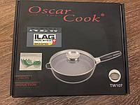 Сковорода с греблоновым покрытием, Oscar Cooks Wiesenhall tw 107 24cm