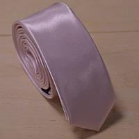 Галстук мужской нежно-розовый атласный Bow Tie House™