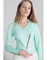Куртка женская из эко-кожи в 4х цветах РОКСЕТ
