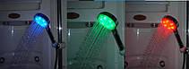 Светодиодная насадка для душа Led Shower RGB color, фото 3