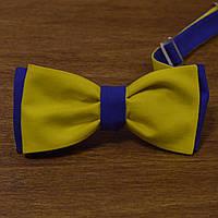 Bow Tie House™ Галстук бабочка флаг Украины двухсторонняя