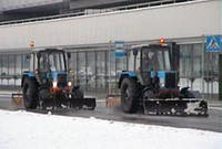 Услуги по уборке и вывозу снега в Киеве