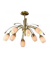 Припотолочная люстра в спальню на 8 (восемь) плафонов галогенная BLITZ Classical Style 1951-38